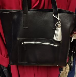 Brand New Faux-Leather Tote